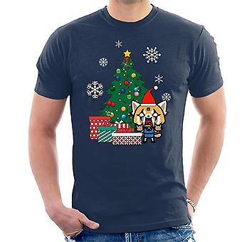 Aggretsuko Around The Christmas Tree Men's T-Shirt