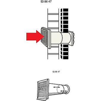 Ventilation kanalen (Ø) 15 cm Wallair N37883