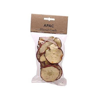 50g Dried Red Apple Slices for Floristry & Wreath Making