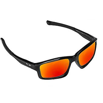 Best SEEK Polarized Replacement Lenses for Oakley CHAINLINK Black Red Mirror