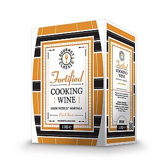 Gourmet-klassische Küche Marsala Wein