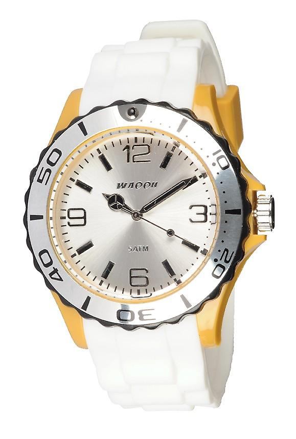 Waooh - Watch STM42 Tricolore black and yellow mustard