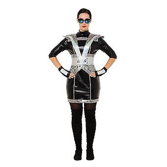 Futuristic Police Lady Costume