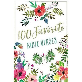 100 Favorite Bible Verses by Thomas Nelson - 9780718096953 Book