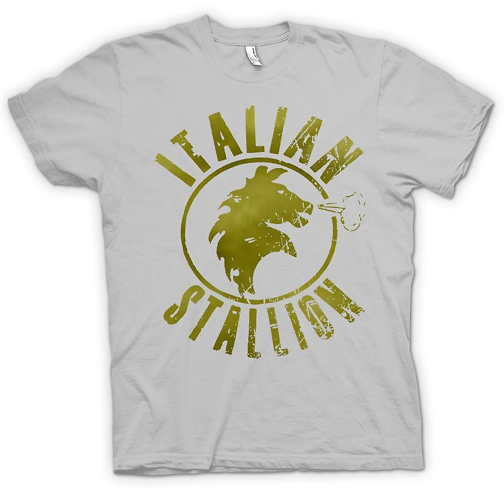 Mens T-shirt - Italian Stallion - Rocky - Boxing