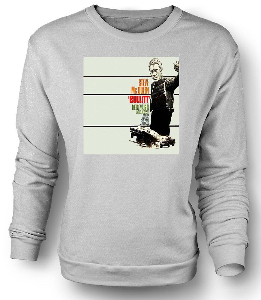 Mens Sweatshirt Steve Mcqueen - Bullit - Poster