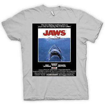 Kids T-shirt - Jaws - Horror - Shark - B Movie - Poster