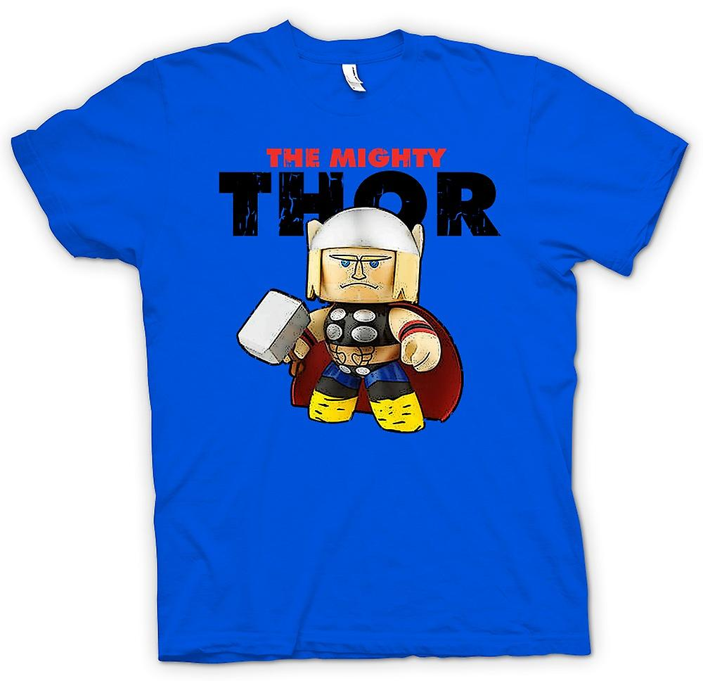Herr T-shirt-Mighty Thor söt
