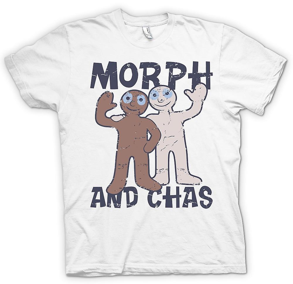 Mens T-shirt - Morph And Chas - Hartbeat Inspired