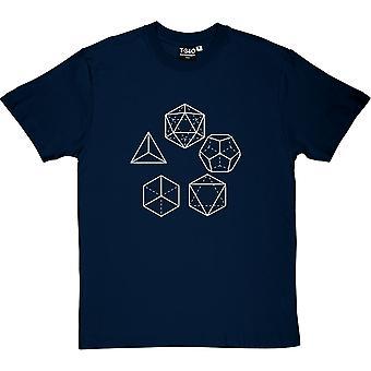Platonisk tørrstoff menn t-skjorte