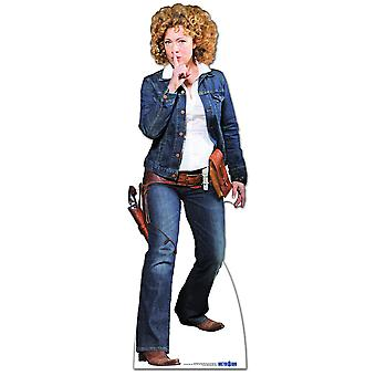 Professor River Song Cowgirl Outfit - Lifesize Cardboard Cutout / Standee (Alex Kingston)