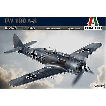Italeri 2678 FW 190 A-8