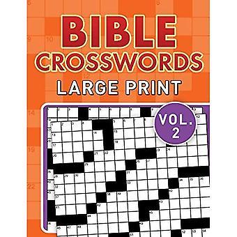 Bijbel Crosswords grote Print Vol. 2