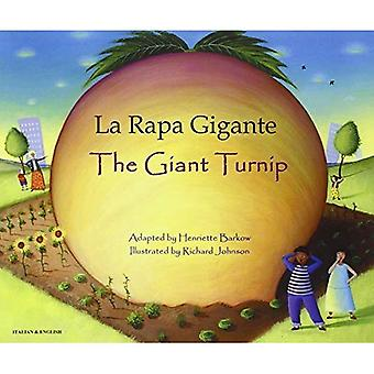 The Giant Turnip Italian & English (Folk Tales)