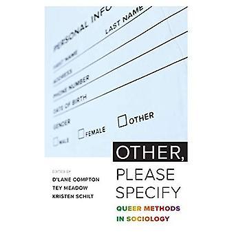 Andere, gelieve te specificeren: Queer methoden in de sociologie