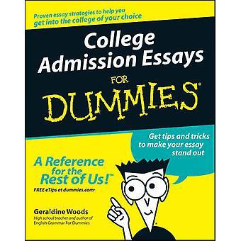 College Admission Essays pour D par Woods