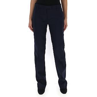 Pantalón de poliéster azul de Prada
