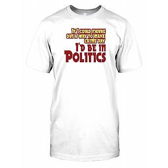 Hvis jeg kunne finde ud af en måde at gøre kriminalitet betale... - sjove citerer børn T Shirt