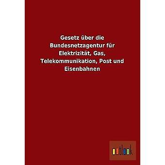 Gesetz Uber Die piel Bundesnetzagentur Elektrizitat Gas Post Telekommunikation Und Eisenbahnen Outlook editorial