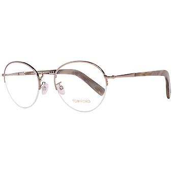 Tom Ford Brille Silber