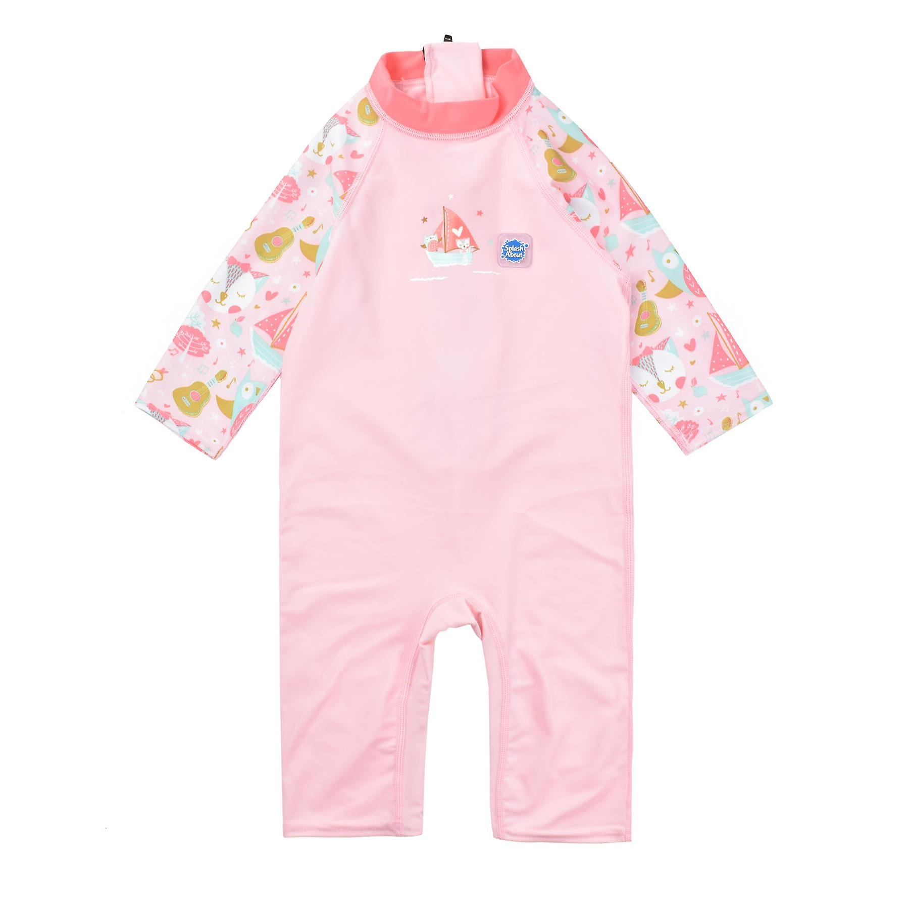 Splash About Toddler 3/4 Length UV Sunsuit  | Owl and The Pussycat