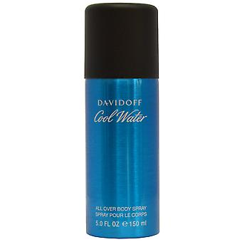 Davidoff Cool Water Men All Over Body Spray pour Le Corps 150ml