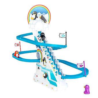 Speels Penguin race speelgoed voor kinderen