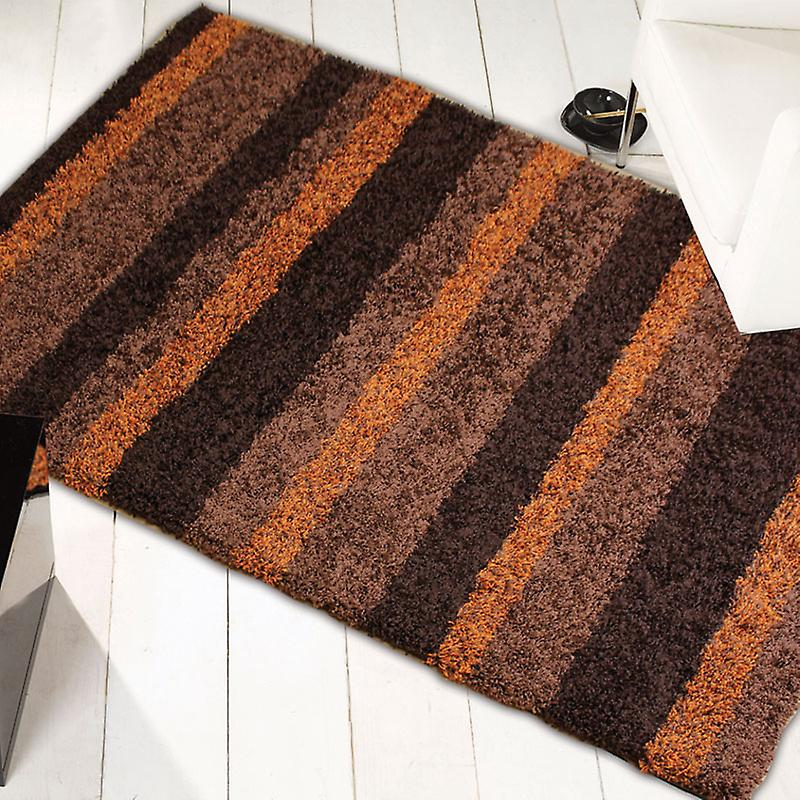 Rugs - Nordic Channel - Orange & Brown