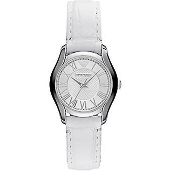Emporio Armani Ar1752 Classic analogico quadrante bianco orologio da donna