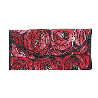 Mackintosh - rose and teardrop money purse by signare tapestry / enve-rmtd