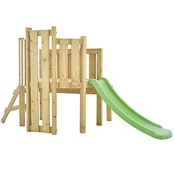 TP Toys Forest Toddler Wooden Climbing Frame and Slide Playcentre Ages 18