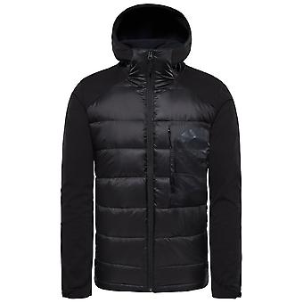 Die North Face Black Mens Peak Frontier Hybrid Jacket