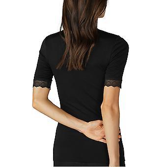 Mey Women 66002 Women's Silk Touch Wool Lace Short Sleeve Top