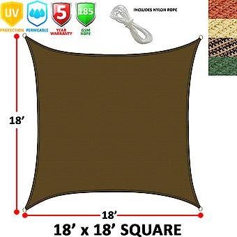 Modern Home Sail Shade Square (18' Sides)
