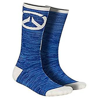 Socks - Overwatch - Watchpoint Blue Logo j8644