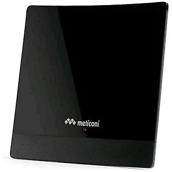 Meliconi at 52 digital antenna amplified indoor 52db black color
