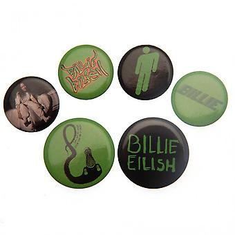 Billie Eilish knop badge set