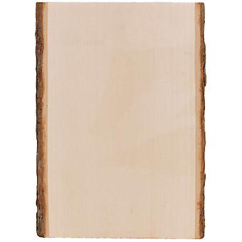 Basswood Country Rectangle Plank 9