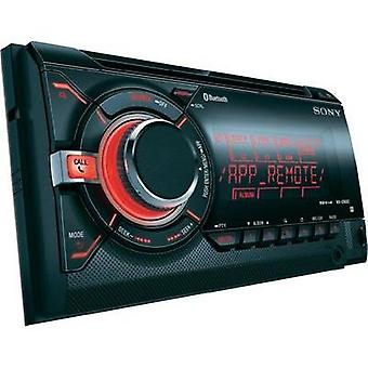 Double DIN car stereo Sony WXGT90BT Bluetooth handsfree set