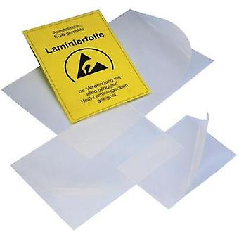 ESD laminating film 1 pc(s) Transparent (L x W) 304 mm x 217 mm BJZ C-199 2751