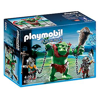 Playmobil 6004 Giant Troll with Dwarf Fighters