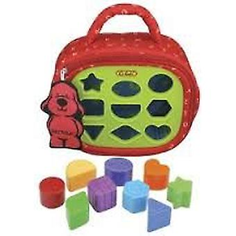K's Kids Learn Shapes - Patrick Briefcase