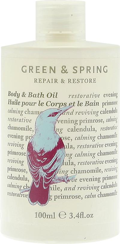 Green & Spring Repair & Restore Bath & Body Oil
