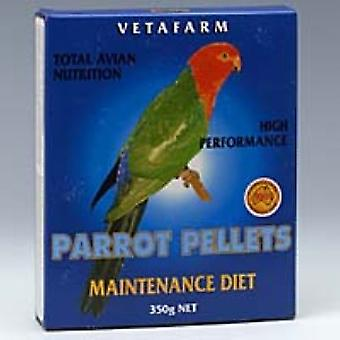 Parrot Pellet Maint Diet 350g Vetafarm
