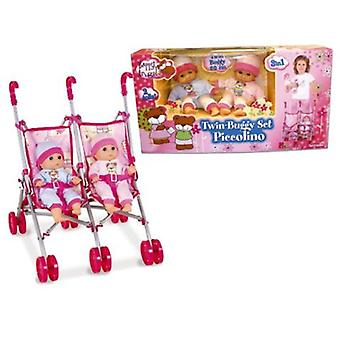 Palau Chair Twins With 2 Dolls (Toys , Dolls And Accesories , Baby Dolls , Strollers)