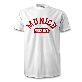 Bayern Munchen 1900 Established Football T-Shirt