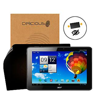 Celicious Privacy Acer Iconia Tab A510 [2-Way] Filter Screen Protector
