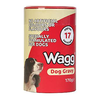 Wagg Dog Gravy 170g (Pack of 6)