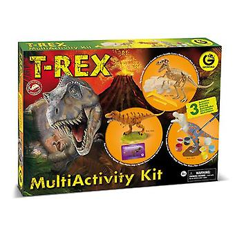 Geoworld Multiactivity Kit T-Rex (Toys , Educative And Creative , Science And Nature)
