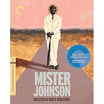 Mister Johnson [Blu-ray] USA import